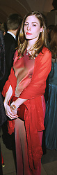 COUNTESS CELIA VON BISMARCK at a dinner in London on 30th November 1998.MMK 96