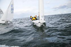 , Kiel - SAP 505er World Championship 2014, 505er, GBR 9125, Roger DEANE, Richard NURSE, Rock