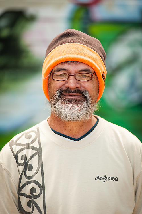 WELLINGTON, NEW ZEALAND - March 08: Newtown Festival goer enjoying his first time at the festival traveled from Naenae. March 08, 2015 in Wellington, New Zealand.  REAL PEOPLE.  (Photo by Elias Rodriguez/ real-people.co.nz)