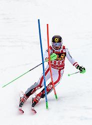05.03.2017, Podkoren, Kranjska Gora, SLO, FIS Weltcup Ski Alpin, Kranjska Gora, Slalom, Herren, 2. Lauf, im Bild Marcel Hirscher (AUT) // Marcel Hirscher of Austria in action during his 2nd run of men's Slalom of FIS ski alpine world cup at the Podkoren in Kranjska Gora, Slovenia on 2017/03/05. EXPA Pictures © 2017, PhotoCredit: EXPA/ Johann Groder