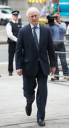 © London News Pictures. 13/07/2012. London, UK. Chelsea chairman, Bruce Buck arriving at Westminster Magistrates court on July 13, 2012, where a verdict  of not guilty was returned today in John Terry's trial for allegedly using a racist obscenity about Queens Park Rangers player Anton Ferdinand. Photo credit: Ben Cawthra/LNP.