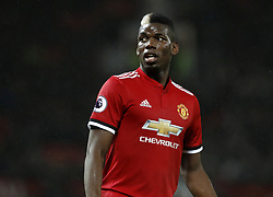 File photo dated 15-01-2018 of Manchester United's Paul Pogba.