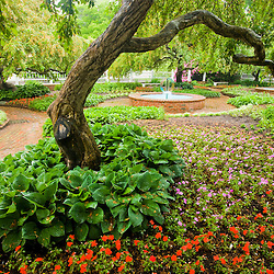 The gardens at Prescott Park in Portsmouth, New Hampshire.