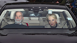 Prince and Princess Michael of Kent arriving for the Queen's Christmas lunch at Buckingham Palace, London.