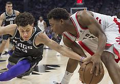Toronto Raptors vs Sacramento Kings 10 Dec 2018