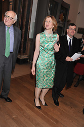 FRANCES OSBORNE at a private view to celebrate the opening of the Royal Academy's exhibition of work by David Hockney held at The Royal Academy, Burlington House, Piccadilly, London on 17th January 2012.