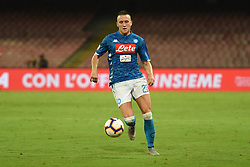 September 15, 2018 - Naples, Naples, Italy - Piotr Zielinski of SSC Napoli during the Serie A TIM match between SSC Napoli and ACF Fiorentina at Stadio San Paolo Naples Italy on 15 September 2018. (Credit Image: © Franco Romano/NurPhoto/ZUMA Press)