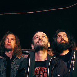 Paris, France. March 4, 2016. The band Mars Red Sky is made of, from left to right: Matgaz (drums), Julien Pras (vocals, guitar) Jimmy Kinast (bass, vocals). Photo: Antoine Doyen