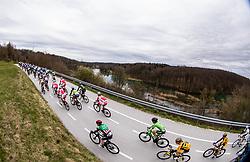 Peloton at Otocec during cycling race 6th Grand Prix Adria Mobil 2021, on March 28, 2021, in Novo mesto, Slovenia. Photo by Vid Ponikvar / Sportida