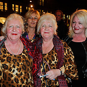 NLD/Amsterdam/20120313 - Inloop Boekenbal 2012, martine en Louise Fokkens