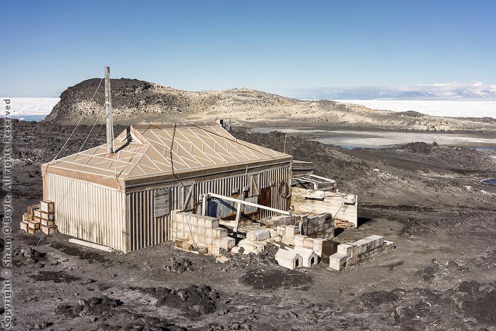 Shackleton's Hut, Cape Royds, Antarctica