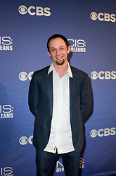 17 September 2014. New Orleans, Louisiana.<br /> NCIS New Orleans. CBS Red carpet event at the WW2 Museum.<br /> Jeffrey Lieber. Executive Producer.<br /> Photo Credit; Charlie Varley/varleypix.com