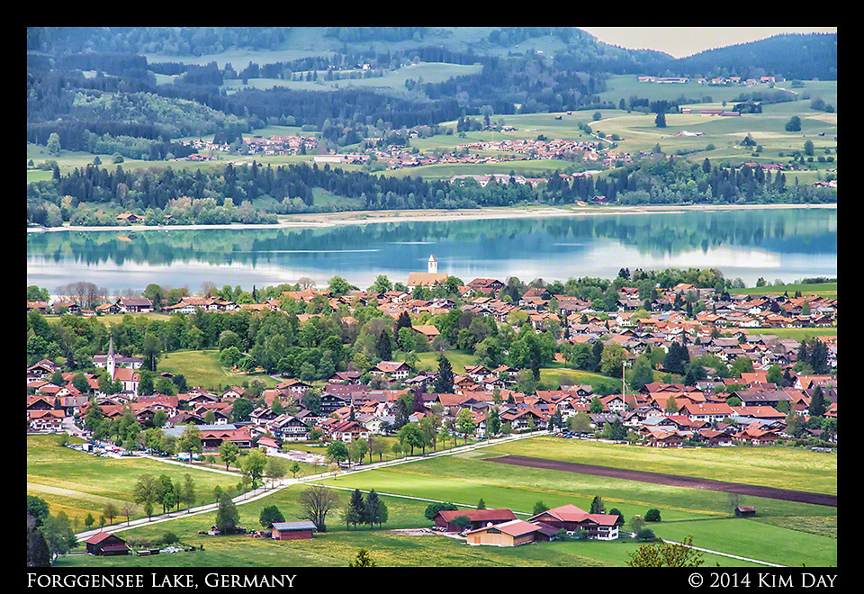 Forggensee Lake<br /> Füssen, Germany<br /> May 2014