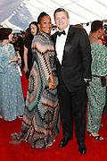 Nicole Avant and Ted Sarandos, Netflix