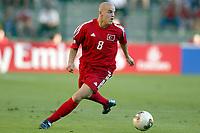 FOTBALL - CONFEDERATIONS CUP 2003 - GROUP B - TYRKIA v USA - 030619 - VOLKAN ARSLAN (TUR) - PHOTO STEPHANE MANTEY / DIGITALSPORT