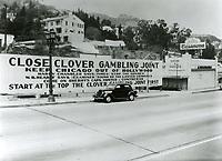 1937 Clover Club on Sunset Blvd.