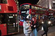Buses, Piccadilly Circus,  11 November 2017.