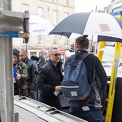 Trainspotting 2 filming in Leith, Edinburgh 16/5/2016
