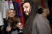 NATHALIE WANSBROUGH-JONES; ANDREW IBI. OPENING OF 'THE CONVENIENCE STORE' AT ST. MARTIN'S LANE HOTEL. London. 19 March 2009