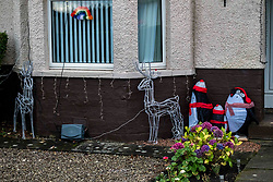 Despite the disappointment of not moving into Covid restrictions level two as expected today, Loanhead residents have started putting up the Christmas decororations early