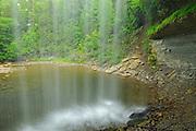 Kagawong River at Bridal Veil Falls on Manitoulin Island<br /> Kagawong<br /> Ontario<br /> Canada