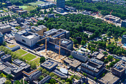Nederland, Gelderland, Nijmegen, 29-05-2019; Radboudumc, Radboud Universitair Centrum, Academisch Ziekenhuis.<br /> Radboudumc, Radboud University Center, Academic Hospital.<br /> <br /> luchtfoto (toeslag op standard tarieven);<br /> aerial photo (additional fee required);<br /> copyright foto/photo Siebe Swart