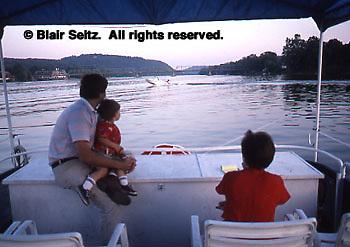 Delaware River Boat Excursion, New Hope, Bucks Co., PA
