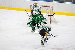 4# Zibelnik Andraz of HK SZ Olimpija during the match of Alps Hockey League 2020/21 between HK SZ Olimpija Ljubljana vs. EC Bregenzerwald, on 09.01.2021 in Hala Tivoli in Ljubljana, Slovenia. Photo by Urban Meglič / Sportida