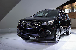 09 February 2017: Buick Envision 4 door AWD<br /> <br /> First staged in 1901, the Chicago Auto Show is the largest auto show in North America and has been held more times than any other auto exposition on the continent.  It has been  presented by the Chicago Automobile Trade Association (CATA) since 1935.  It is held at McCormick Place, Chicago Illinois<br /> #CAS17