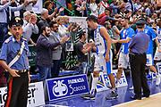 Giacomo Devecchi<br /> Banco di Sardegna Dinamo Sassari - Grissin Bon Reggio Emilia<br /> LegaBasket LBA Poste Mobile 2017/2018<br /> Sassari, 15/10/2017<br /> Foto L.Canu / Ciamillo-Castoria