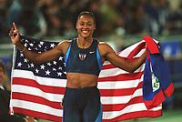 MARION JONES,       <br />      200m    Gold   USA