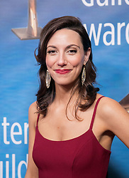 February 17, 2019 - Beverly Hills, California, U.S - Alexis Jacknow in the red carpet of the 2019 Writers Guild Awards at the Beverly Hilton Hotel on Sunday February 17, 2019 in Beverly Hills, California. JAVIER ROJAS/PI (Credit Image: © Prensa Internacional via ZUMA Wire)