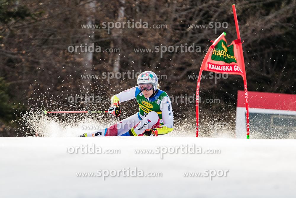 Marco Odermatt (SUI) during the Audi FIS Alpine Ski World Cup Men's Giant Slalom at 60th Vitranc Cup 2021 on March 13, 2021 in Podkoren, Kranjska Gora, Slovenia Photo by Grega Valancic / Sportida