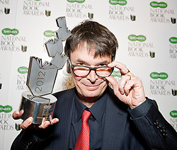 Ian Rankin Specsavers National Book Awards 2012, Central London, Great Britain, December 4, 2012. Photo by Elliott Franks / i-Images.
