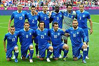 "Formazione Italia (Italia)<br /> Poznan 14/06/2012  """"Stadion Miejski""<br /> Football calcio Europeo 2012 Italia Vs Croazia <br /> Football Calcio Euro 2012<br /> Foto Insidefoto Alessandro Sabattini"