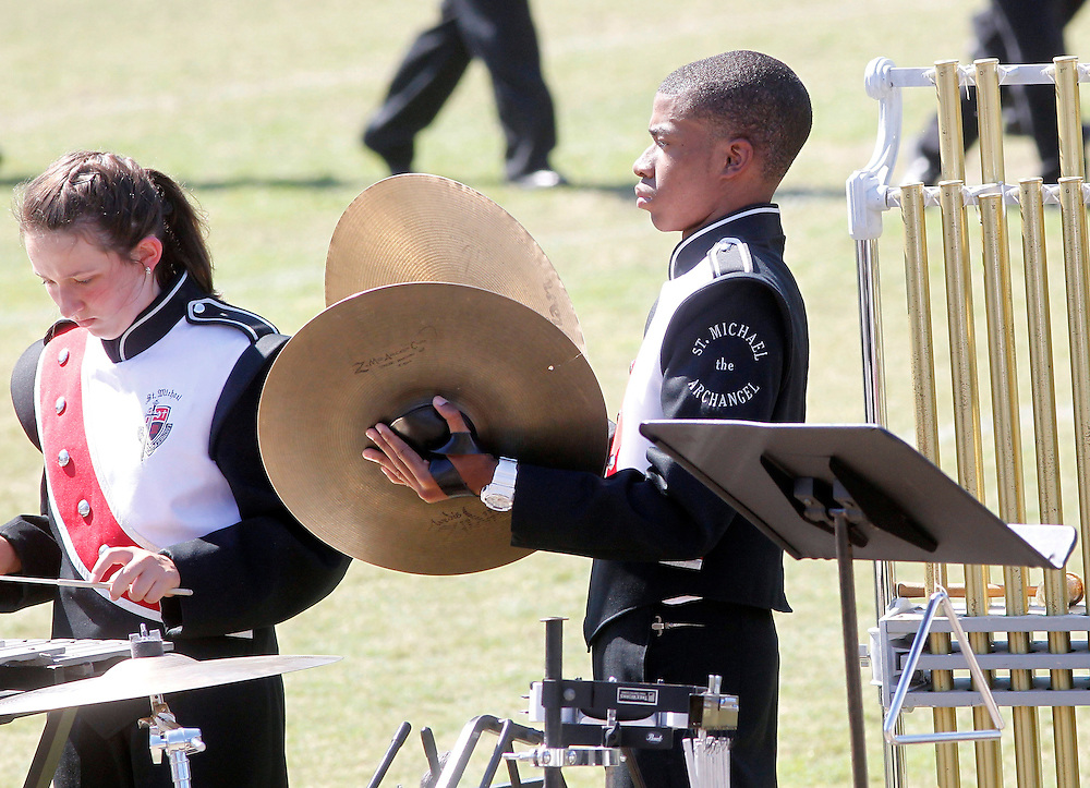 St. Michael marching band at Dutchtown Marching Festival. .
