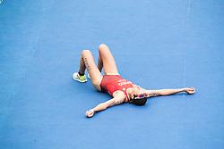 20.08.2016, Fort Copacabana, Rio de Janeiro, BRA, Rio 2016, Olympische Sommerspiele, Triathlon, Damen, im Bild Nicola Spirig Hug (SUI, Silbermedaille) // silver medalist Nicola Spirig Hug of Switzerland during the Womens Triathlon of the Rio 2016 Olympic Summer Games at the Fort Copacabana in Rio de Janeiro, Brazil on 2016/08/20. EXPA Pictures © 2016, PhotoCredit: EXPA/ Johann Groder