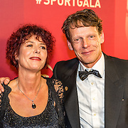 NLD/Amsterdam/20161221 - NOC*NSF Sportgala 2016, Gerard Nijboer en partner