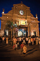 Catherine Alexandra Cathedral - Dumaguete's patron saint Santa Catalina de Alexandria was built in the 17th century. The church is a prominent landmark in the city. Adjacent to the cathedral is the old belfry once used as a siege tower during the Spanish colonial period.