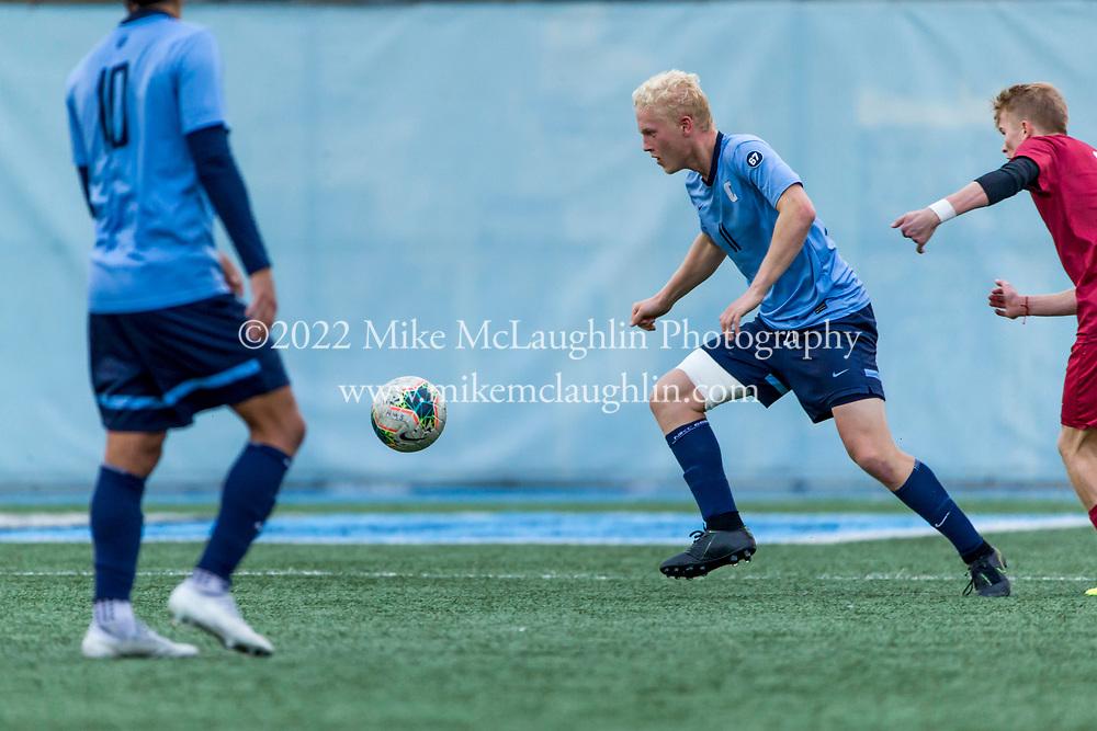 November 10, 2019 New York, NY<br /> Columbia University men's soccer v. University of Pennsylvania.<br /> 2019 Mike McLaughlin<br /> https://mclaughlin.photoshelter.com/<br /> Mike McLaughlin