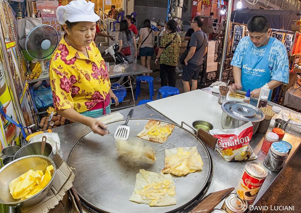 Pancakes at Hua Hin night market.