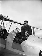 Captain Darby Kennedy - Weston Aerodrome, Leixlip, Co. Kildare.24/03/1954