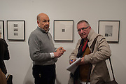 ANTONY D'OFFAY; ROGER HARGREAVES,  Warhol, Burroughs and Lynch exhibition. The Photographers' Gallery, Ramillies Place, London. 16 January 2014.