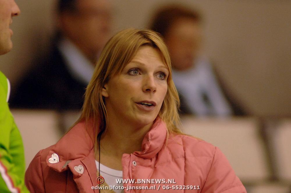 NLD/Heerenveen/20060122 - WK Sprint 2006, 2de 500 meter heren, Annemarie Thomas