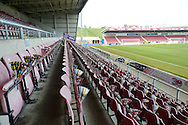 """Cobblers Clappers""  on stand seats during the Sky Bet League 2 match between Northampton Town and Cambridge United at Sixfields Stadium, Northampton, England on 12 March 2016. Photo by Dennis Goodwin."