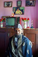 Inde, Bengale-Occidental, Murshidabad ancienne capitale du Bengale, Syed Reza Ali Meerza, descendant du Nawab de Murshidabad // India, West Bengal, Murshidabad, former capital of Bengal, Syed Reza Ali Meerza, grand son of Nawab of Murshidabad