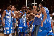 DESCRIZIONE :  Lega A 2014-15  EA7 Milano -Banco di Sardegna Sassari playoff Semifinale gara 7<br /> GIOCATORE : Dyson Jerome Sanders Rakim<br /> CATEGORIA : Low Mani  Esultanza Composizione<br /> SQUADRA : Banco di Sardegna Sassari<br /> EVENTO : PlayOff Semifinale gara 7<br /> GARA : EA7 Milano - Banco di Sardegna Sassari PlayOff Semifinale Gara 7<br /> DATA : 10/06/2015 <br /> SPORT : Pallacanestro <br /> AUTORE : Agenzia Ciamillo-Castoria/Richard Morgano<br /> Galleria : Lega Basket A 2014-2015 Fotonotizia : Milano Lega A 2014-15  EA7 Milano - Banco di Sardegna Sassari playoff Semifinale  gara 7<br /> Predefinita :