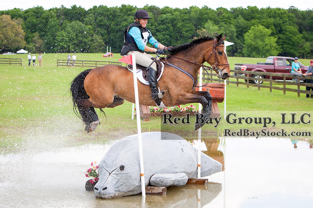 Lesley Grant-Law (CAN) and What Law at the 2014 Ocala Horse Properties International 3-Day Event in Ocala, Florida.