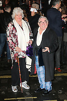 Ronnie Corbett, I Can't Sing! The X Factor Musical - press night, London Palladium, London UK, 26 March 2014, Photo by Richard Goldschmidt
