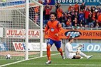 Fotball, <br /> Kvalifisering UEFA Europa League 28.07.2011  ,<br /> Aalesund v if elfsborg 4-0<br /> Michael barrantes - aalesund<br /> Ante Covic - if elfsborg<br /> Foto: Richard brevik , Digitalsport